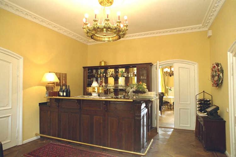 Beispiel: Rezeption, Foto: Schloss Steinhöfel.