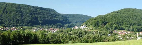 Beispiel: Landschaftsblick, Foto: AKZENT Hotel Höhenblick.