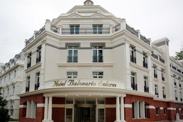 Entrada principal Hotel Balneario de Solares