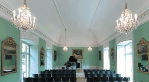 Beispiel: Gartensaal, Foto: Villa Boveri.