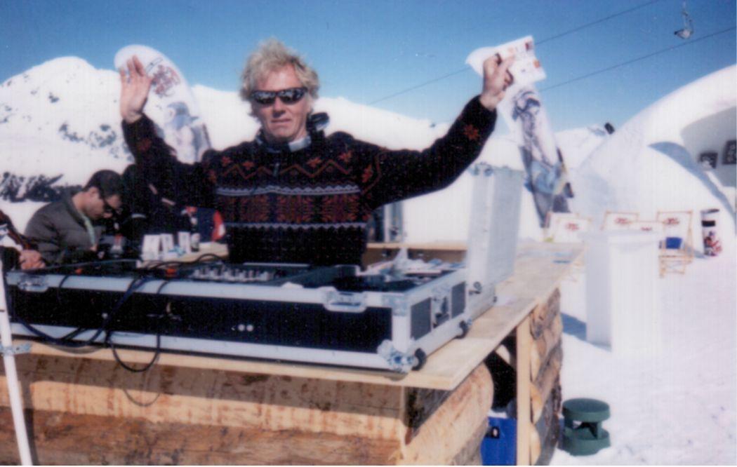 DJ Einsatz, Marboro-Event, Davos