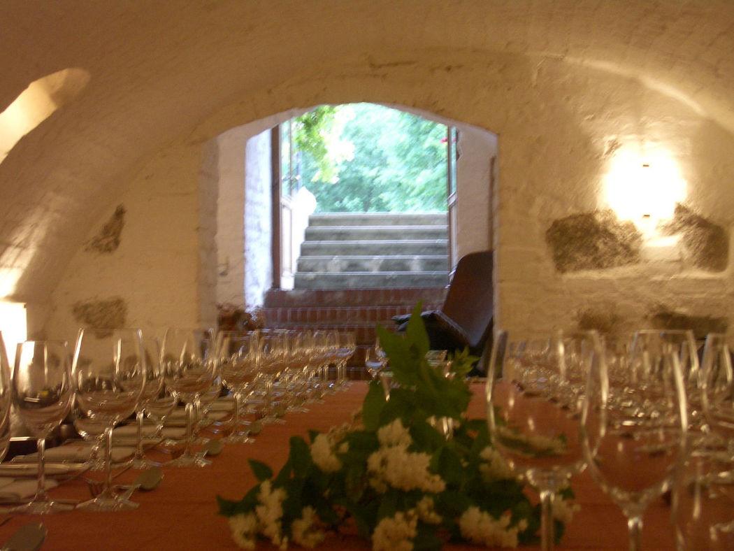 Beispiel: Gewölbe - Tafel, Foto: Schloss Ziethen.