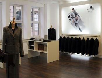 Beispiel: Atelier in Stuttgart, Foto: Calkap - Atelier für Maßkonfektion.