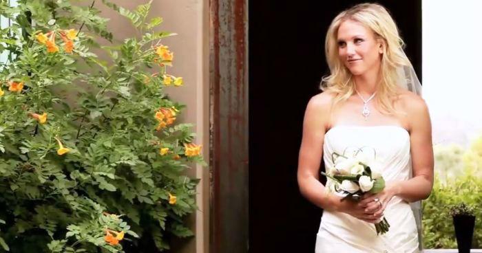 Beispiel: Brautmode mit Geschmack, Foto: Kleiderverleih Rottenberg.