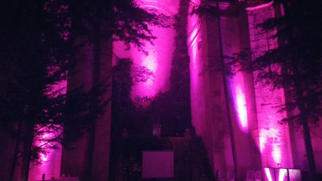 SuenaBoda - Iluminación Ambiental - Monasterio de Lupiana, Guadalajara