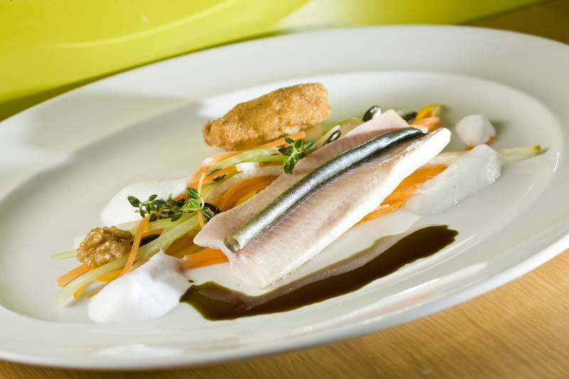 Beispiel: Gastronomische Köstlichkeiten, Foto: Restaurant Schlossberg.