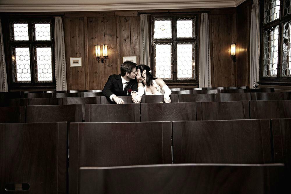 Beispiel: Hochzeitsfotografie, Foto: Cut & Shoot.