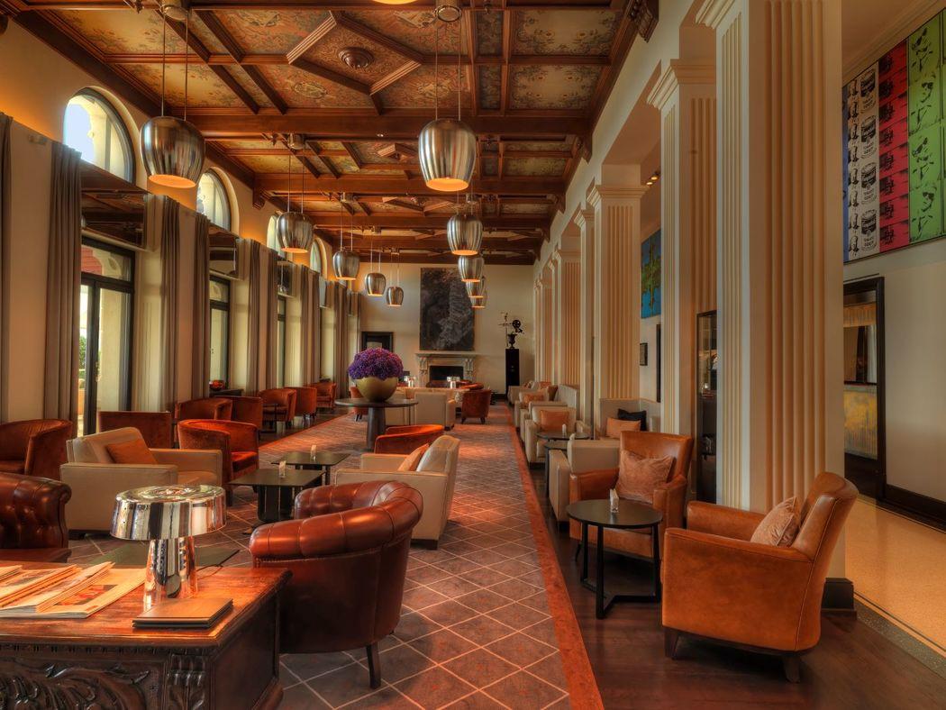 Beispiel: Lobby, Foto The Dolder Grand.
