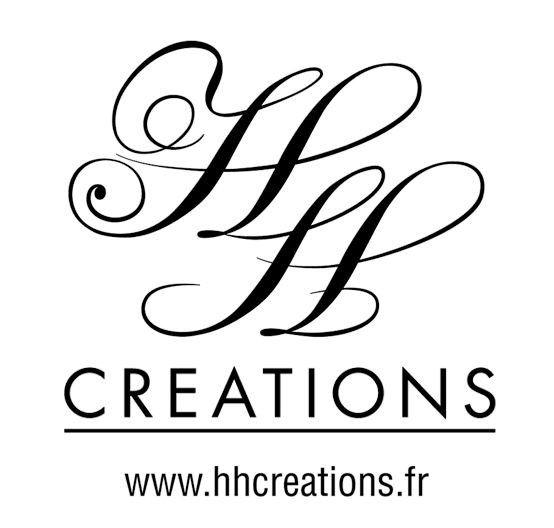 Logotype HH Créations  www.hhcreations.fr