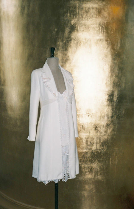 Beispiel: Mode für die Braut von heute, Foto: Rieth-Couture.