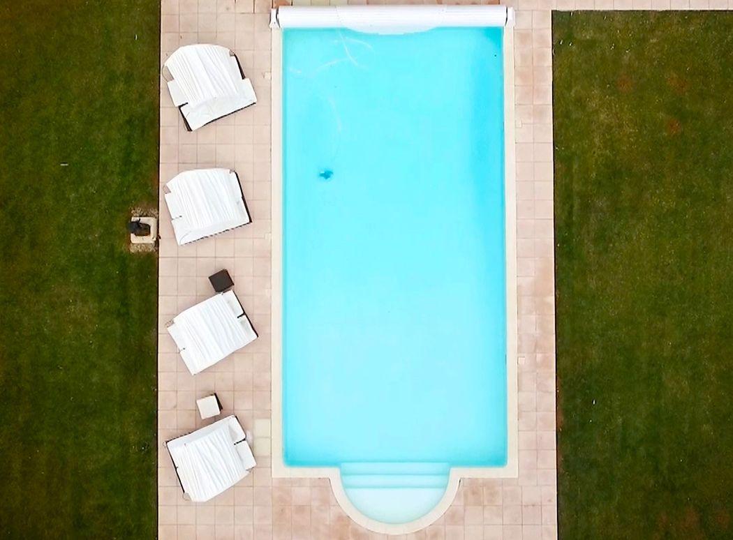 l'une des piscines