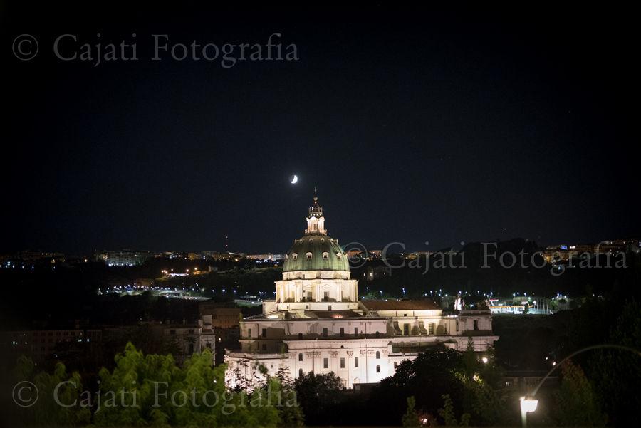 luna e basilica