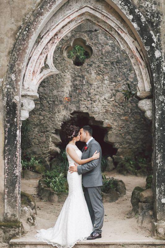 Свадьба в сказочном лесу Португалии от StudioVictorias