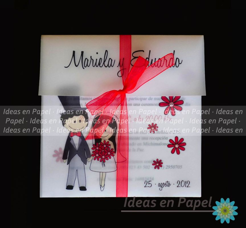 invitaciones con monitos