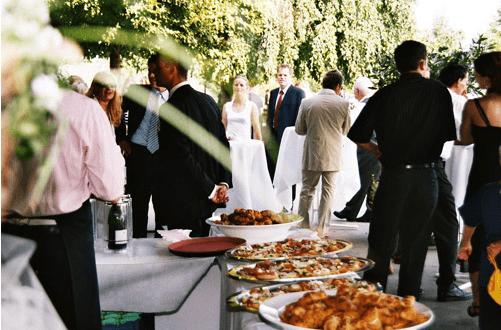 Beispiel: Hochzeitsgesellschaft, Foto: Der Sonnenhof.