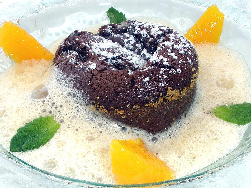 Beispiel: Kreative Küche - Dessert, Foto: Restaurant Weinstein.