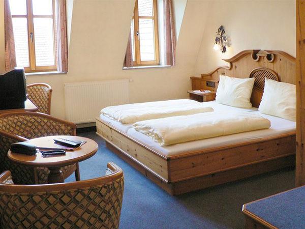 Beispiel: Zimmer, Foto: AKZENT Gasthof Krone.
