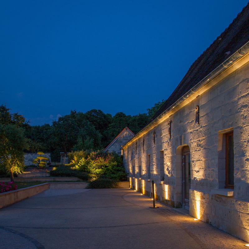 La terrasse , la nuit....