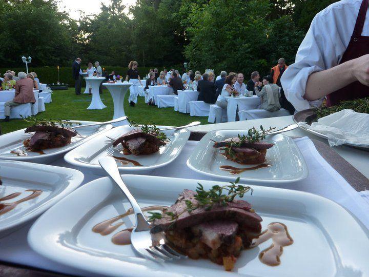 Beispiel: Kulinarischer Genuß von Caterer, Foto: Landhaus Diedert Catering.