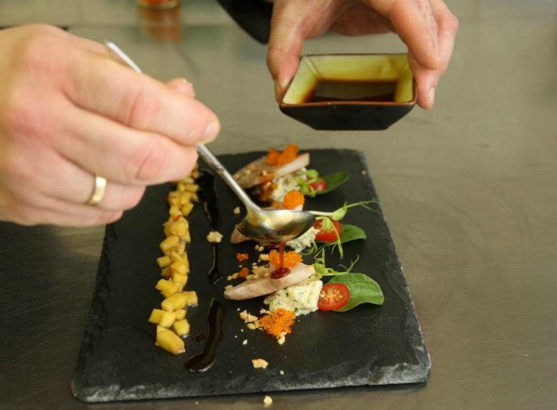 Beispiel: Gastronomie, Foto: J-Restaurant Schloss Ringenberg.