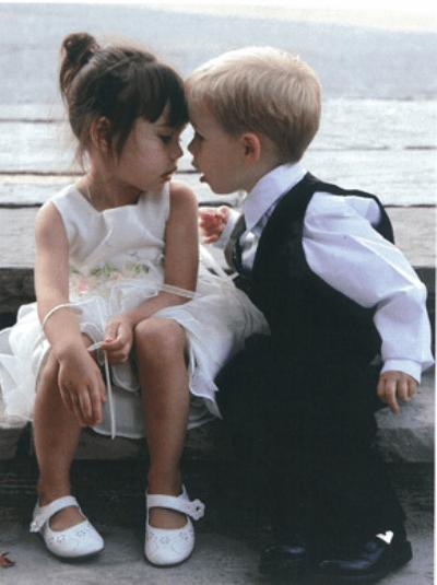Beispiel: Kinderhochzeit, Foto: Wedding Event Nannys.