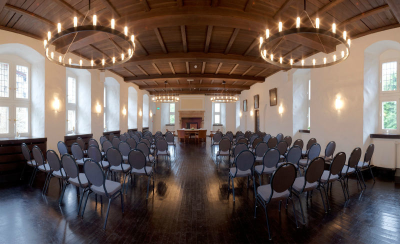 Beispiel: Rittersaal, Foto: Schloss Broich.