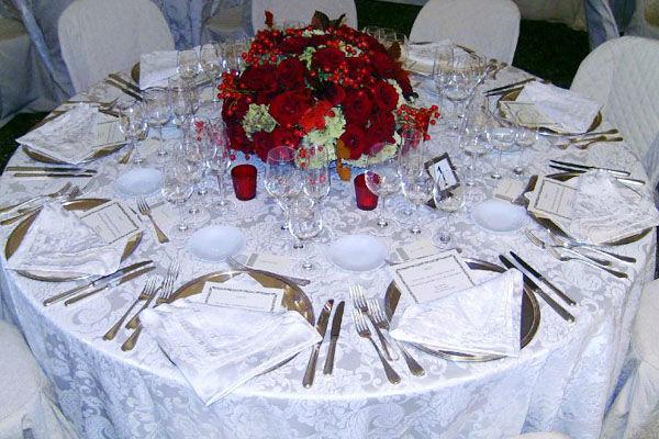 Tavolo matrimonio - La Buona Tavola Catering&Banqueting Firenze