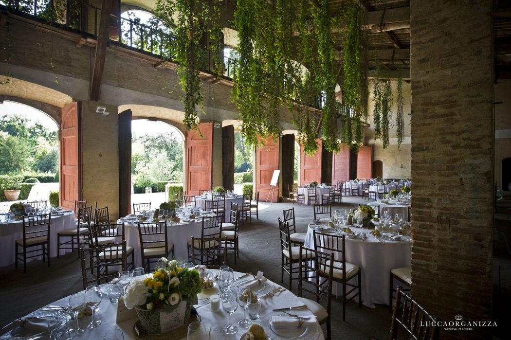 Wedding gala dinner