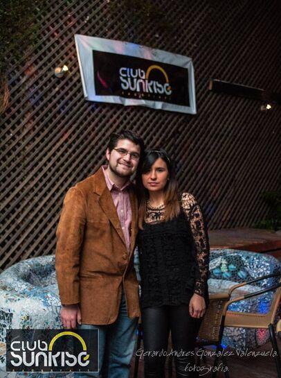 Evento Pub Club Sunrise, Talca. Diciembre de 2014.