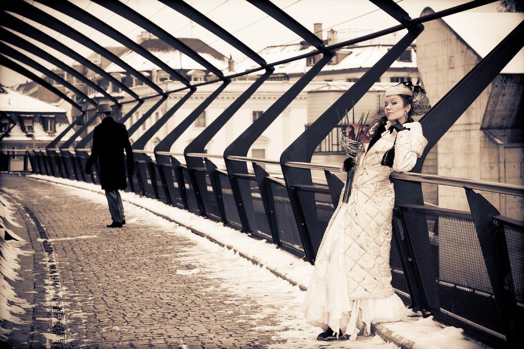 Hochzeitspaar am Stadelhofen