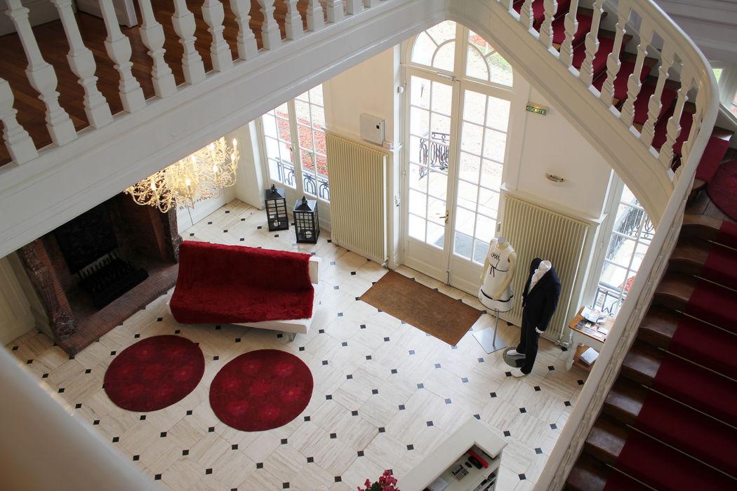 Le hall d'entrée Château Blanc Olivier Sinic