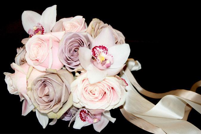 Beispiel: Individuelle Brautsträuße, Foto: Marsano Blumen.