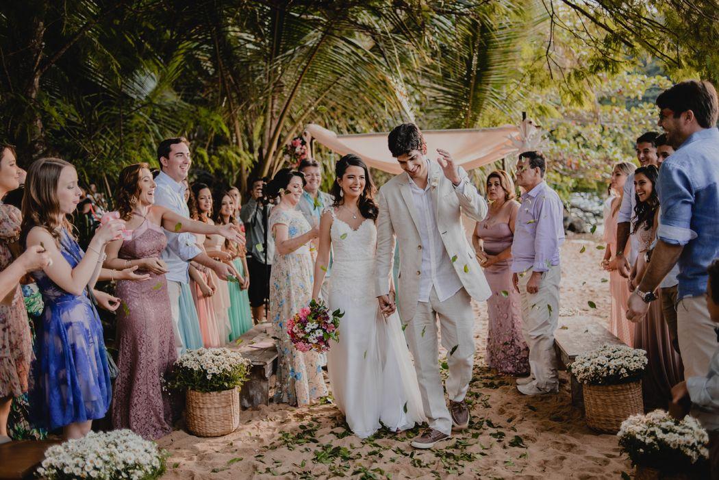 Cerimonial Mais ArtEventos - Casamento Luciana + Diego, Ilha Grande