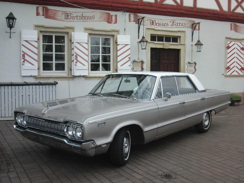 Beispiel: Dodge Polara Custom, Foto: Oldtimer Bergstraße.