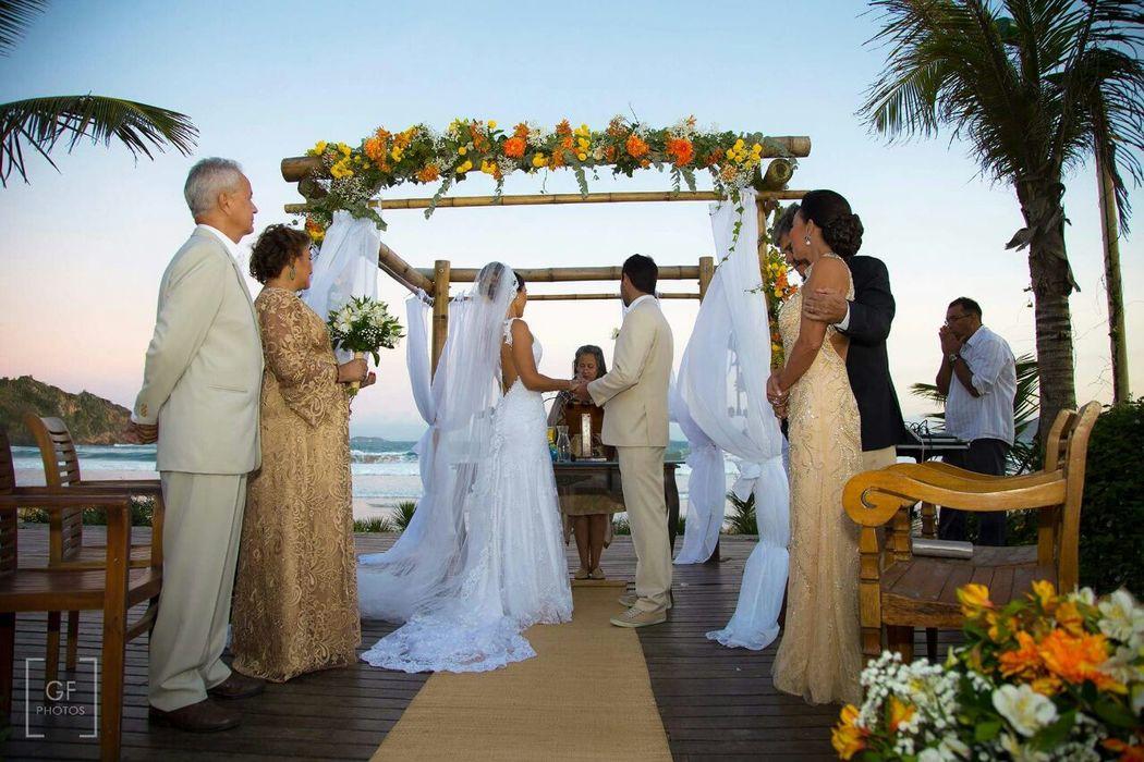 Casamento na praia em Buzios, RJ