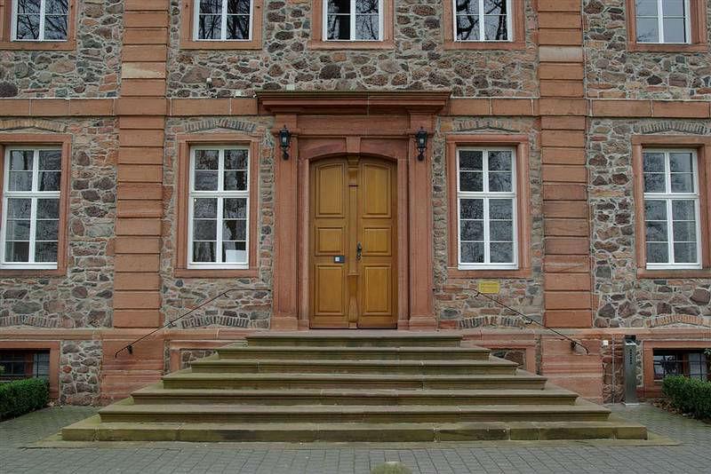 Beispiel: Sandsteintreppe, Foto: Schloss Langenselbold.
