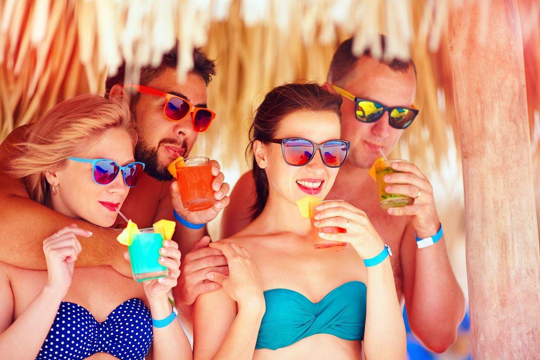 Fiestas caribeñas en playa