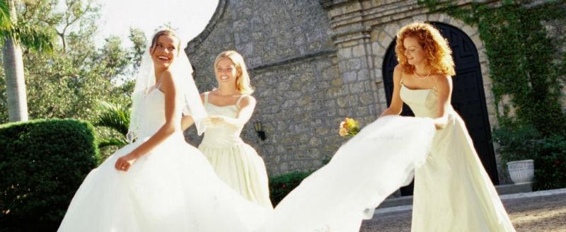 Video di matrimonio di sposa con damigelle