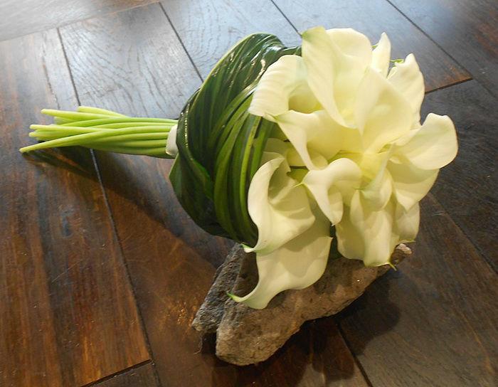 Beispiel: Hochzeitsfloristik, Foto: Frankfurter Blumenbote.