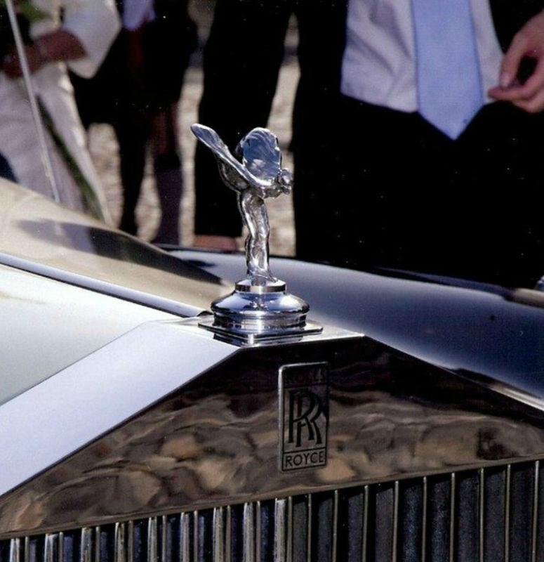 Beispiel: Hochzeitsauto, Foto: Rolls Royce Silver Cloud.
