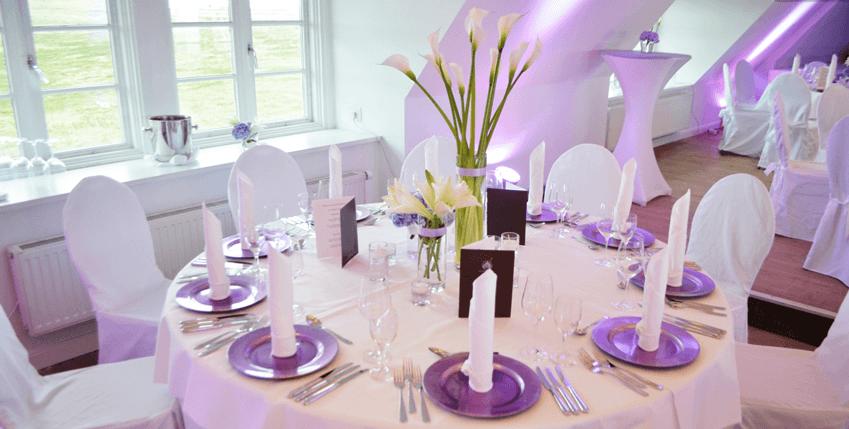 Beispiel: Hochzeitsgedeck nach Ihrem Konzept, Foto: La Deko.