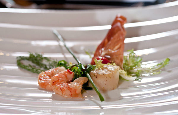 Beispiel: Feinste Küche, Foto: Gerstner Catering.