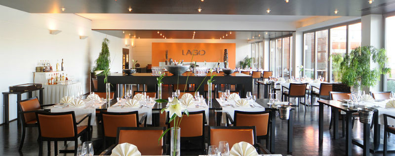 Beispiel: Hochzeitstafel, Foto: Lago Hotel & Restaurant.