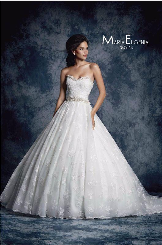 Vestido 893 Coleccion Sapphiro de Alfred Angelo En Maria Eugenia