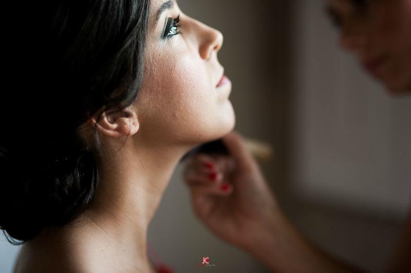 Javi Collazo maquillaje novia