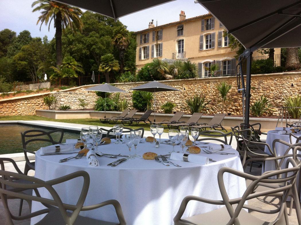 La Piscine et sa terrasse