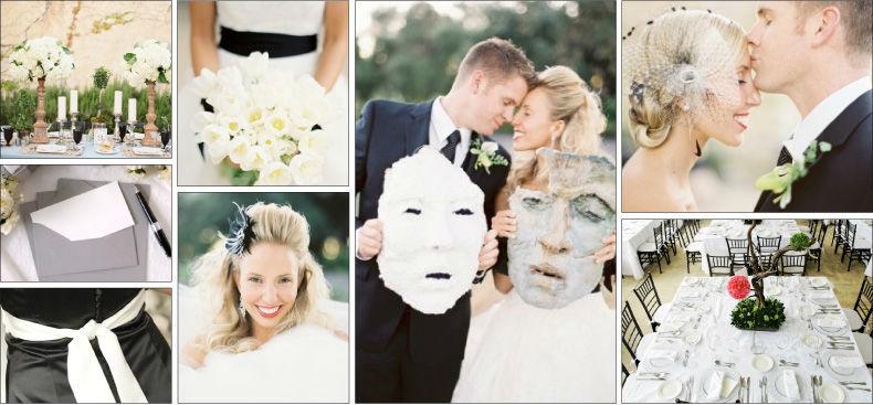 Beispiel: Ihr Konzept für eine moderne Hochzeit, Foto: Jose Villa