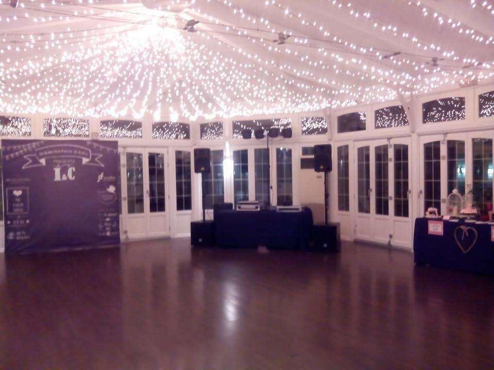 Diferentes servicios listos en una boda del hotel NH Collection Palacio de Avilés