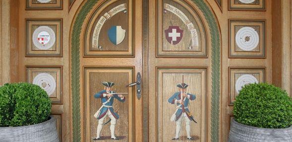 Beispiel: Eingang, Foto: Wirtschaft zum Schützenhaus.