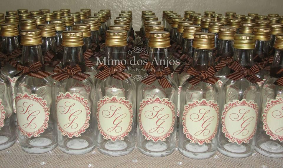 Mini Cachacinhas Mimo dos Anjos.